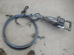 Yamaha Outboard Dual throttle Control box top mount binnacle 30' cables