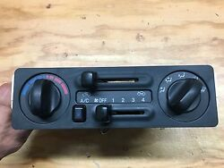 1998-1999 Isuzu Rodeo; Honda Passport Heater AC climate control panel