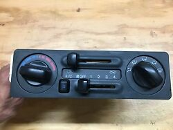2000-2004 Isuzu Rodeo; Honda Passport Heater AC climate control panel
