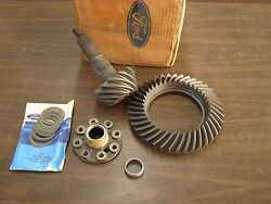 Nos Oem Ford 1983 1987 Rear End Ring Gear + Pinion 8.8 Truck Ranger Mustang 1984
