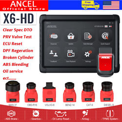 Foxwell Obd2 Diagnostic Tool Automotive Scanner Bms Dpf Abs Immo Tpms Oil Reset