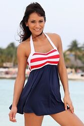 Ujena Sailor Girl Swim Dress