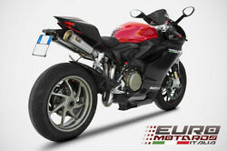 Ducati Panigale 1199 Zard Exhaust Full System With Dual Silencers - Only 6.6 Kg