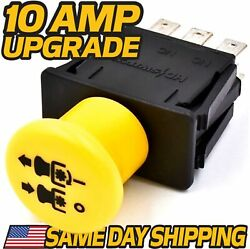 Pto Switch Fits John Deere Wg32a Wh36a Wg48a Whp52a Whp61a - 10 Amp Upgrade