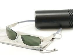 IC! Berlin Sunglasses Shi Pearl Green Stainless Steel Germany Made 57-16-130 32