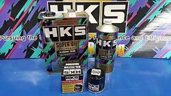 Hks Super Racing Engine Oil And Oil Filter For Honda Civic Ep3 Type R K20a Fn2 Fd2