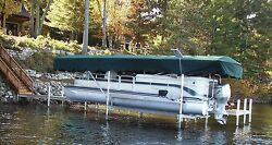 Replacement Canopy Boat Lift Cover Hewitt 20x120 Flat