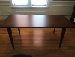 Cherner Rectangular 72 Dining Table. Barely Used Modern With Mid Century Feel