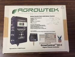 Agrowtek Digital Integrated Climate Grow Controller  & CO2 Sensor Hydroponic NEW