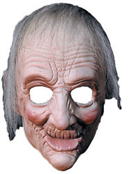 Ma Grandma Old Wrinkled Little Old Lady Latex 3/4 Mask Distortions