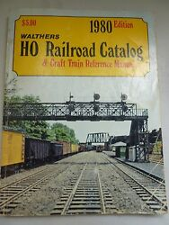 Walthers1980 Ho Trains Fat Catalog And O Gauge Passenger List Other Items Incuded