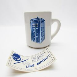 Doctor Who VTG Disappearing Tardis Coffee Mug Cup - Dr. Who. EXCELLENT!