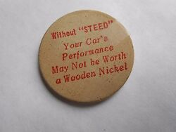 Vintage Without Steed Your Carand039s Performance May Not Be Worth This Wooden Nickel