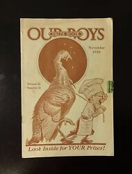 1929 Our Boys Prize Book, Gifts Novelties, Babe Ruth Henry Ford Edison Lindbergh