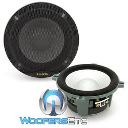 2 Mids Only Kappa Perfect Infinity 5.25 Pro 400w Midranges Midbass Speakers New