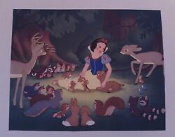 Vintage Copyrighted 1937 By Walt Disney Pictures, Snow White