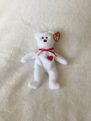 Very Rare And Coveted Valentino, Ty Beanie Baby From 1993 With Numerous Flaws