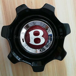 Genuine Bentley Flying Spur Centre Cap Hub Cover Black Color 3w0601171ae 1pc