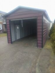 12x41x 9  FULLY ENCLOCED 1(9x8) roll up door  1 walk in door