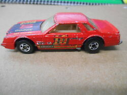 Vintage Hot Wheels Red 1980 Dodge Mirada Stocker Competition Race Car10 1700