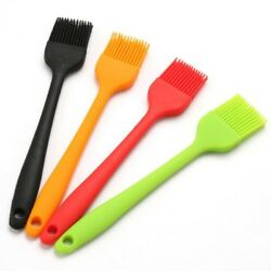 Silicone Basting 8 And Pastry Brush Bbq With Stainless Steel Core Set Of Two
