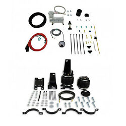 Air Lift Control Air Spring And Single Air Compressor Kit For 00-04 Excursion Rwd