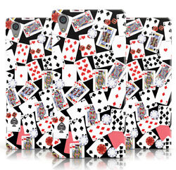 Dyefor New Cards Poker Design Dice Print Black Phone Case Cover For Sony