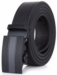 Gallery Seven Leather Click  Belt  Adjustable Ratchet Belt For Men Gift Wrap