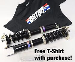 Bc Racing Coilovers Br Series For 10-13 Golf Vi Mk6/v6 H-11-br W/ Swift Springs