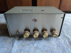 Single Ended 6bq5 El84 Admiral Stereo Se Tube Amplifier Project Magnavox 8601