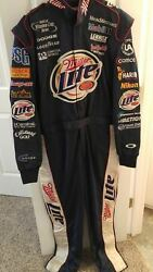 2003 Rusty Wallace Signed Race Worn Drivers Fire Suite With Jsa Certificate Coa