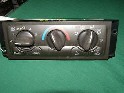 2000 CHEVY VENTURE AC CLIMATE CONTROL OEM  wrear defroster