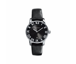 Atlas Stainless Steel Watch 29mm 2 Hand Black Dial 2403.00 Retail