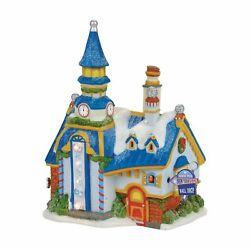 Department 56 North Pole New Year's Eve Center Lighted Building 4056667