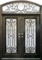Hand Crafted 12 Gauge Wrought Iron Doors by Monarch Custom Doors 76