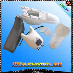 Plastic Kit Black Seat Tank Fender White Covers For Yamaha Pw50 Py50 Peewee Pw50