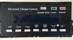 85-92 CADILLAC DEVILLE ELECTRONIC CLIMATE HEATER AC CONTROL SWITCH