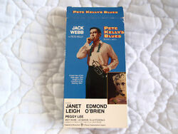 Pete Kellyand039s Blues Vhs 20and039s Jazz Jack Webb Janet Leigh Ella Fitzgerald Peggy Lee