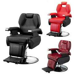 All Purpose Hydraulic Recline Barber Chair Salon Beauty Spa Hair Styling Classic