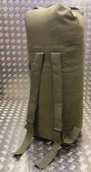 Us Army Style Kit Bag / Duffle / Shoulder Bag / Ruck Sack Military Green Od New