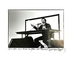 John Cage Composer Signed Photograph To John And Rosamond Russell