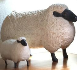 Francois Xavier Lalanne Large Sheep In The Style Of Sculpture Life Size Resin