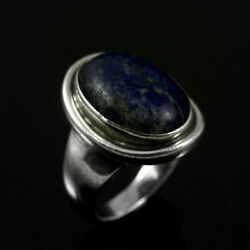 Georg Jensen. Sterling Silver Ring With Lapis Lazuli 46a - Harald Nielsen