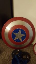 Captain America Shield-best Cosplay Shield-real Metal Shield Leather Straps
