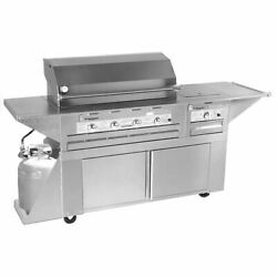 Lazy Man Mobile Outdoor Barbecue - Six Burner Propane Model Model LM2104030MP