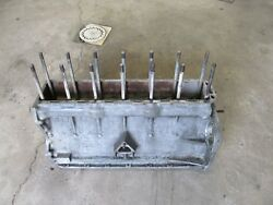 Alfa Romeo 2600 Sprint Spider Engine Block With Matching Caps And Cover