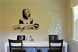 Marilyn Monroe amp; Signature Wall Sticker Wall Mural Vinyl Decal lettering