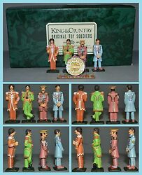 King And Country The Beatles Sgt. Pepper's Lonely Hearts Club Band Aa-11370/s2