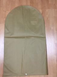 4 Suit Garment Dress Cover/storage/travel Bag Dust Proof Breathable In Tan