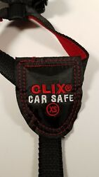 Clix Car Safe Dog Harness Size: Extra Small 14-25.5in G